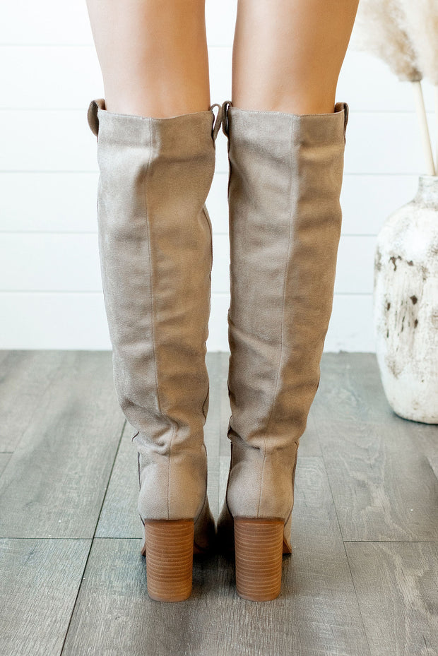 The Saint Boot (Taupe) FINAL SALE