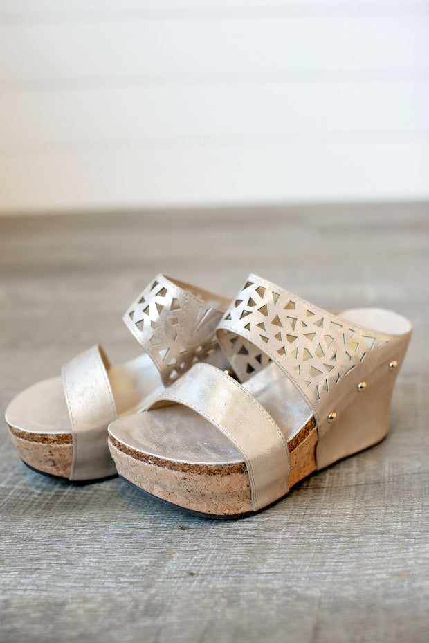 Bay Breeze Wedge (Gold)