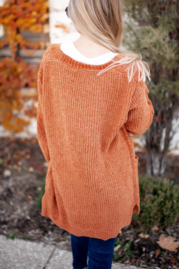 The Dolly Cardigan (Ginger)