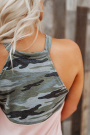Roger That Block Tank (Camo/Pink)