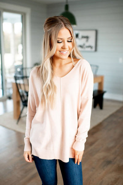 All The Good Things Sweater (Blossom Pink)