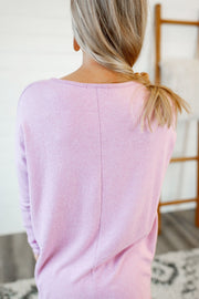 Lilianna Brushed Long Sleeve (Orchid)