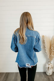 The Carter Denim Jacket (Medium Wash)