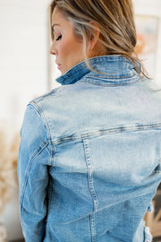 KanCan Denim Jacket (Medium Wash)