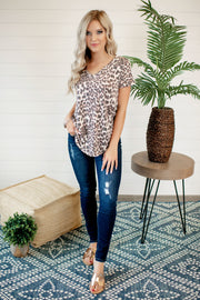 Cheetahlicious V-Neck Tee FINAL SALE
