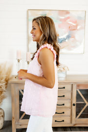 Sweet Beginnings Dotted Tank (Pink)