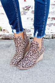 Very G Erika Booties (Leopard)