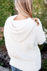 Enjoy The Show Popcorn Pullover (Ivory)