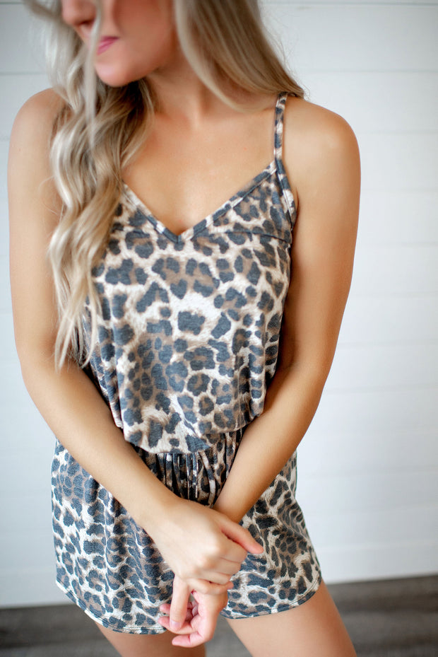 On The Wild Side Romper