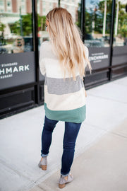 Crushing On You Knit Sweater (Pine) FINAL SALE