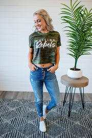 Raising Rebels Crop Top (Camo)