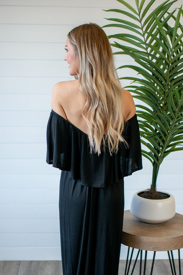Easy Going Maxi Dress (Black)