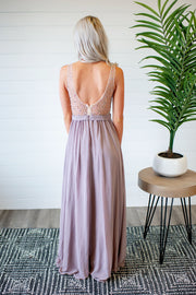 The Diana Gown (Taupe)