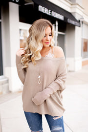 Slouchy Sweater (Mocha)