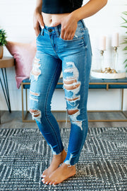 Eunina Josie Distressed Skinnies