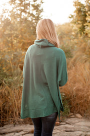 The Vienna Waffle Tunic (Hunter Green)