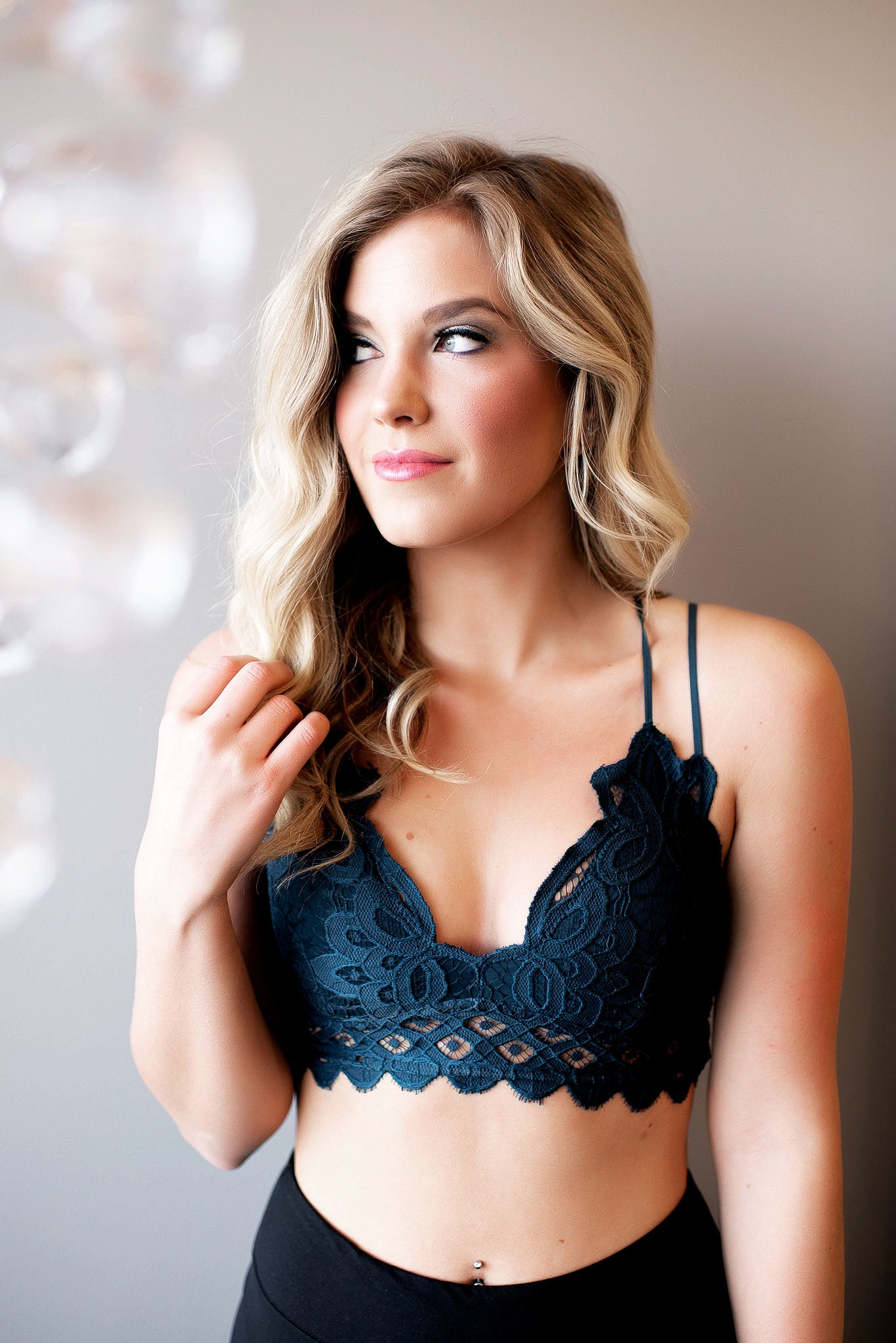 a0fad582d9 Love N Lace Bralette (Teal) - Blue Layne Boutique
