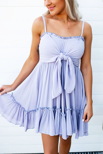 The Sophie Ruffle Dress (Lilac)
