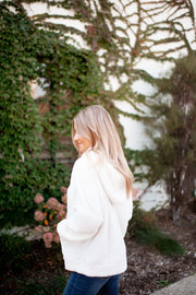 Let Me Love You Sherpa Pullover (Ivory)