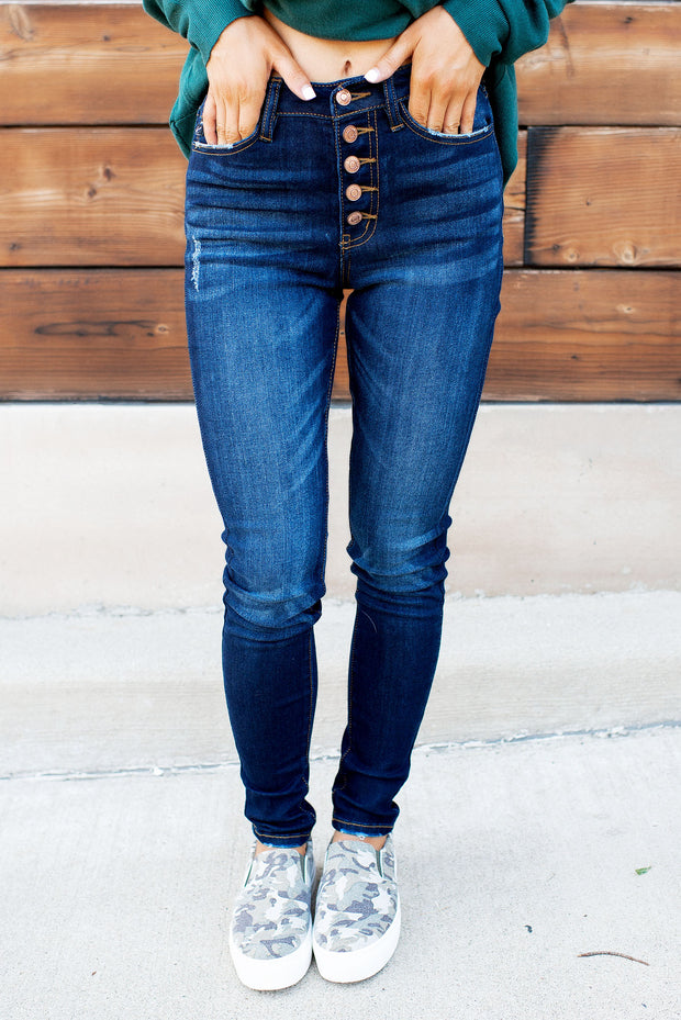 KanCan Amelia High Rise Skinnies