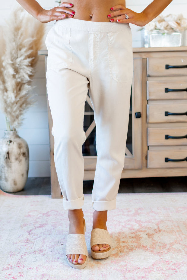 Simple and Sweet Pants (Linen)
