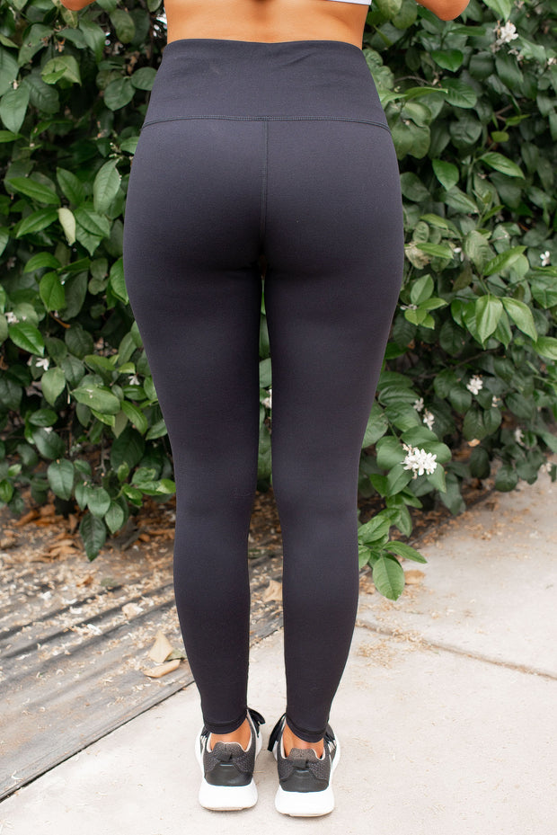 Mono B Laser Cut Leggings (Black)