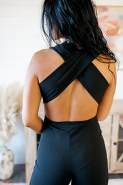 Brought Sexy Back Jumpsuit (Black)