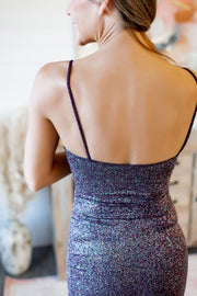 Glitz and Glam Dress (Plum)