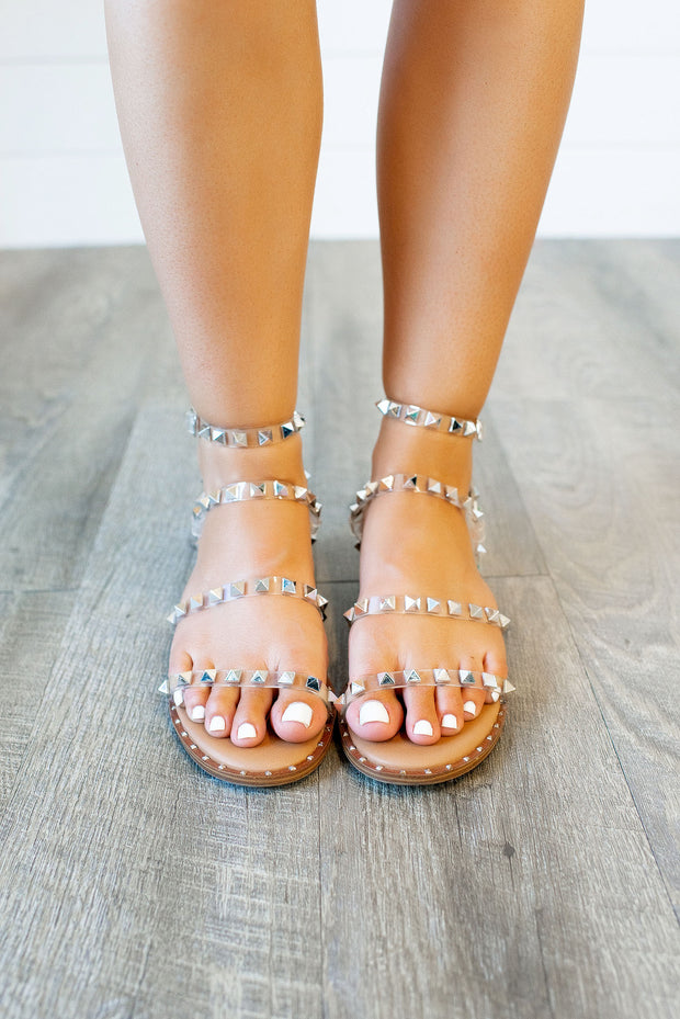 Steve Madden Travel Sandal (Clear)