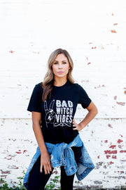 Bad Witch Vibes Graphic Tee (Black)