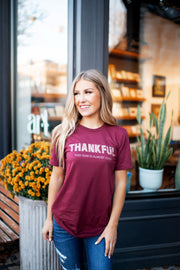 It's Almost Over Tee (Burgundy) FINAL SALE