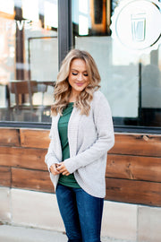 What Lovers Do Cardigan (Taupe)