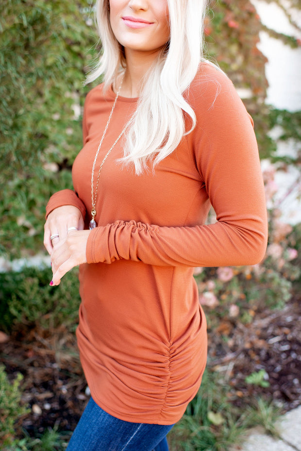Something About Her (Pumpkin Spice) FINAL SALE