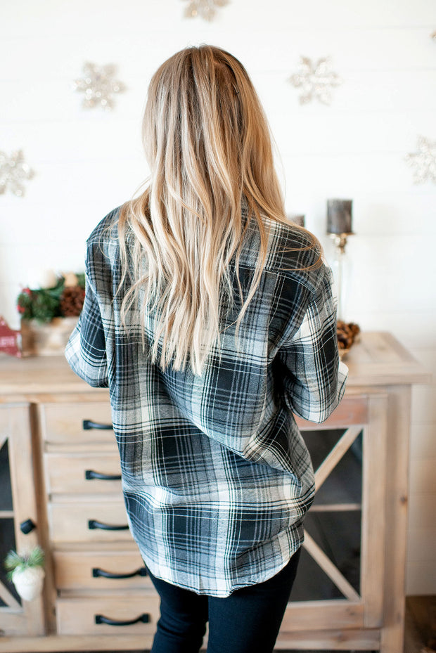 The Finley Flannel (Grey)