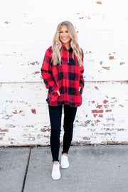 Buffalo Sherpa (Red/Black) DOORBUSTER