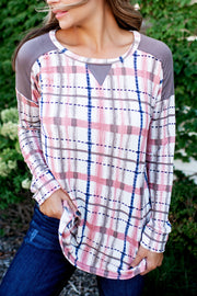 The Polly Plaid Tunic (Pink)