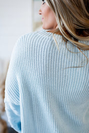Love At First Sight Sweater (Blue)