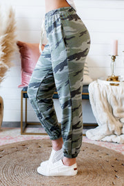 Craving Camo Joggers (Green/Grey)