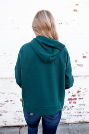 Snug As A Bug Hoodie (Hunter Green) FINAL SALE