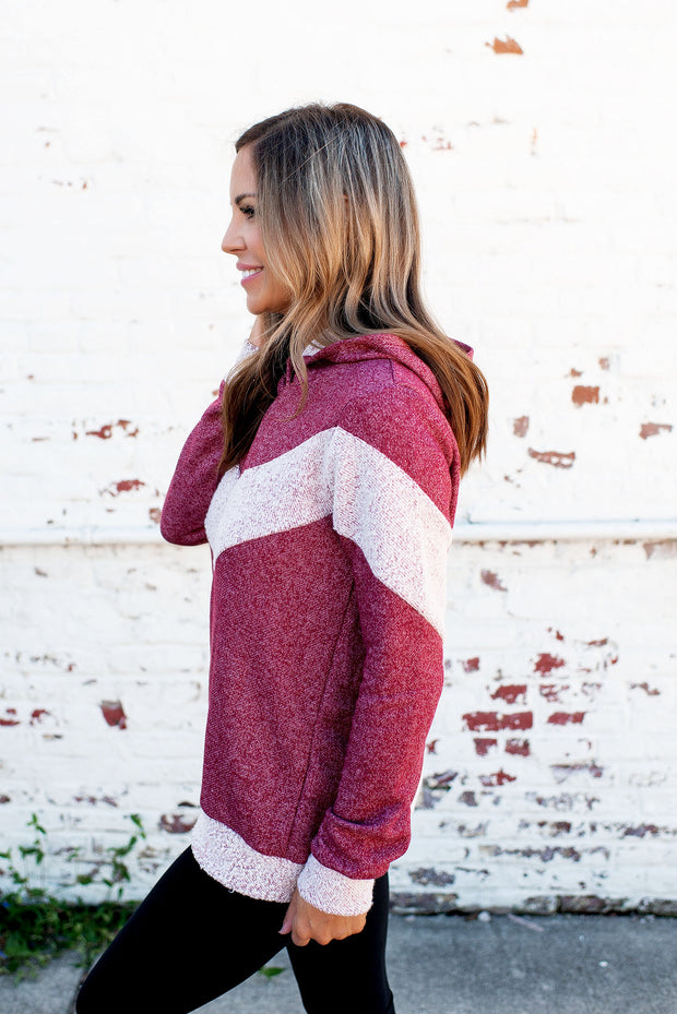 The Chevy Pullover (Burgundy)
