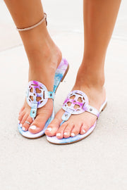 The London Flip Flops (Starlight) FINAL SALE