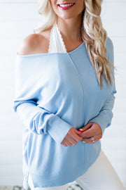 All The Good Things Sweater (Sky Blue)