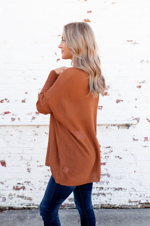 Slouchy Sweater (Camel)
