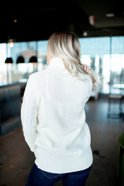 The Dakota Turtleneck (Cream) DOORBUSTER