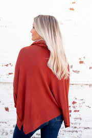 The Way It Is Dolman Top (Brick)