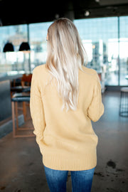 The Dakota Turtleneck (Mustard) DOORBUSTER