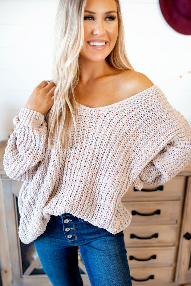 Reasons To Relax Sweater (Nude)