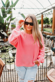 Love At First Sight Sweater (Pink) FINAL SALE