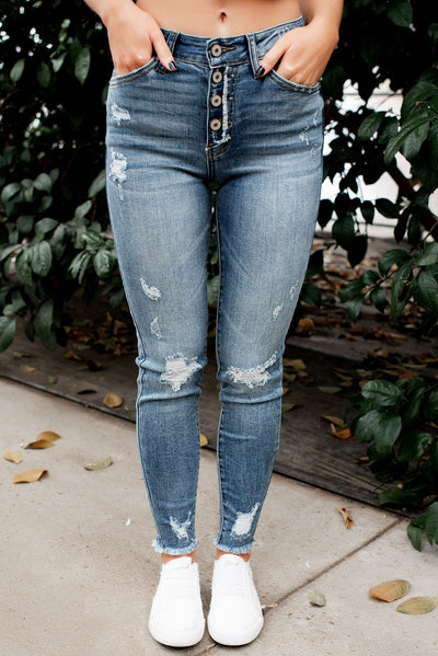 KanCan Phoebe High Rise Skinny Jeans