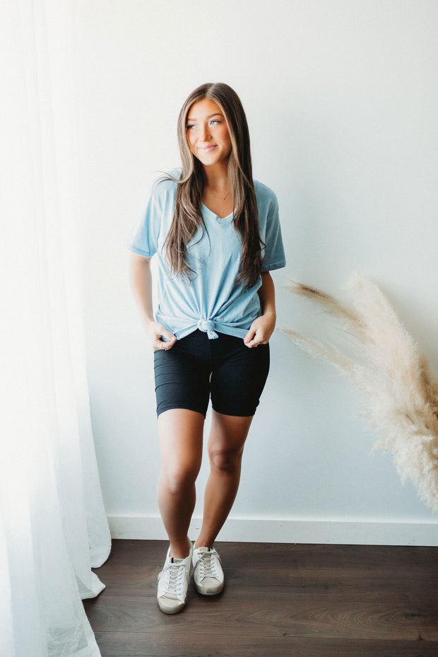 Cotton Candy Swirl Tee (Pink/Yellow/Blue) FINAL SALE